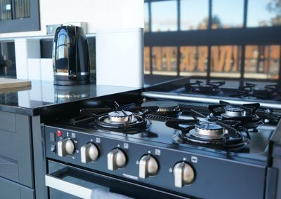 Quality kitchen appliances in cabins
