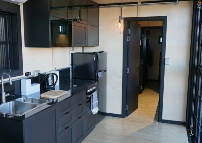 Kitchen options in cabin