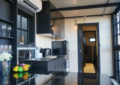Deluxe kitchen fit out in cabin