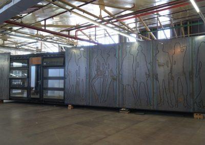 Nord Trond Steel sheet cabin